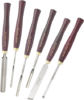 Professional Spindle Collection - 6 HSS gouges