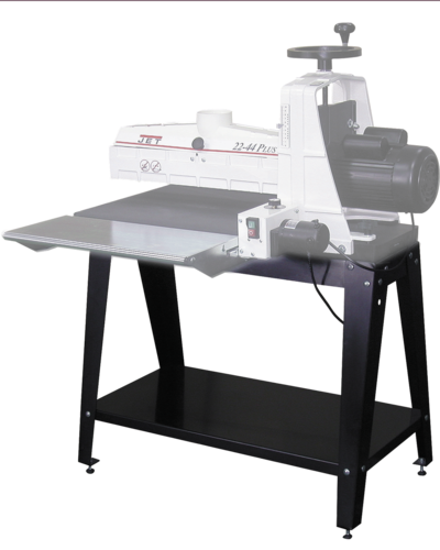 Open Stand with shelf for Benchtop Sander 22-44 PLUS M
