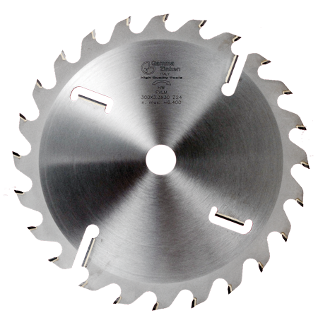 FVM Flat toothed circular saw blade with rakers