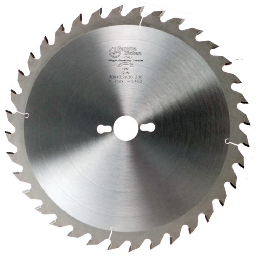 G1W Alternate circular saw blade for thick wood