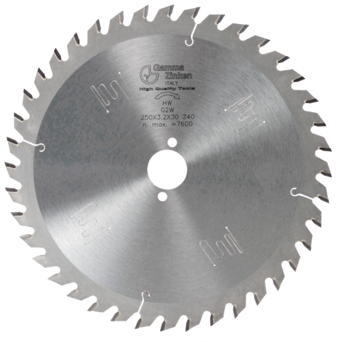 G2W Alternate circular saw blade for thick wood
