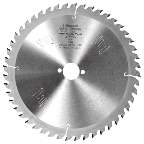 G3W Alternate circular saw blade for wood