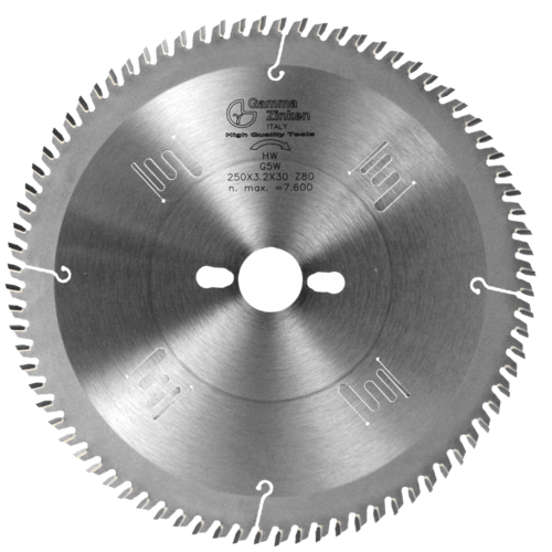 G5W Alternate saw blade for wooden panels and composite