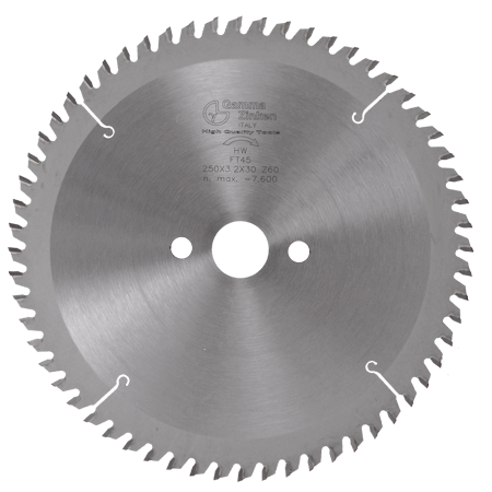 FT45 Trapezoidal blade for full aluminium
