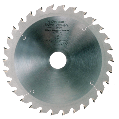 PW Alternate circular saw blade for thick wood