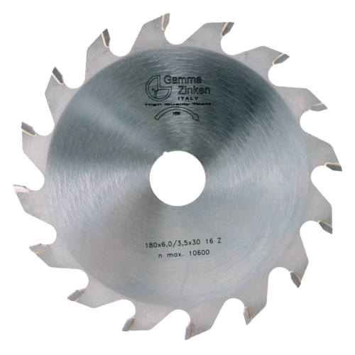 FS 180mm Flat toothed circular saw blade for grooves
