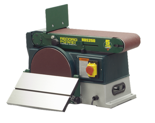 Combination disc and belt sander RP BDS250