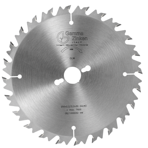 GLW Alternate circular saw blade with limiter