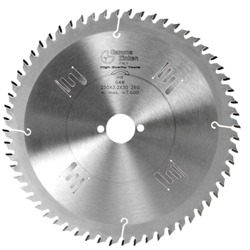 G4W Alternate circular saw blade for thin wood