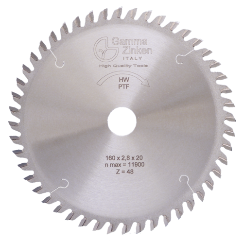 PTF Trapezoidal circular saw blade for panel