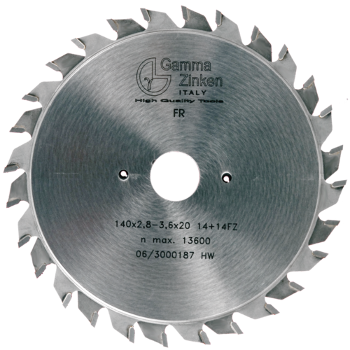FR Adjustable scoring saw blade blade for panel