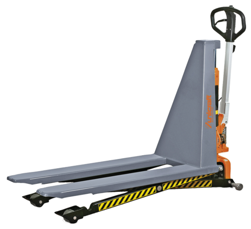 PHH 1003E Scissor pallet truck with electrical-hydraulic lifting