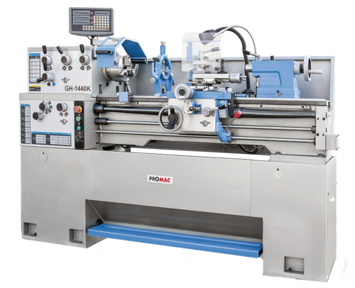 Metal lathes GHB 1440 W  with 3-axis digital readout